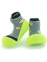 attipas UFO negro zapatos Primi Passi Niños Niñas y Niños, antideslizante, ergonómico