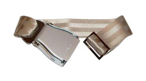 skybelt-flugzeuggurtel-argent-champagne-seatbelt-flying-ceinture-ajustable