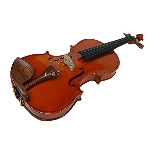 Violini Strumenti a Corda Abete Rosso Legno massello Importato a Mano Strumento a Corde in Legno di Sandalo Rosso con Parti Complete (Color : 4/4)