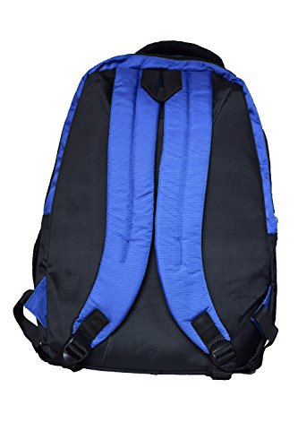 Tripura Blue And black School/College Bag For Boys And Girls