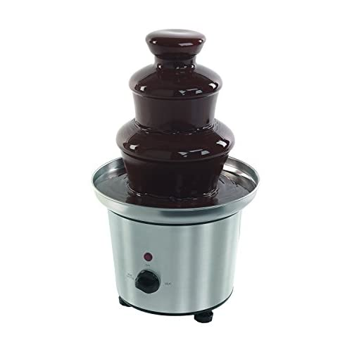 Giles and Posner EK1561 Chocolate Fountain for Fun Cooking, Stainless Steel