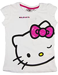 Hello Kitty Official Girls T-Shirt Short Sleeve Age 3/8 Years