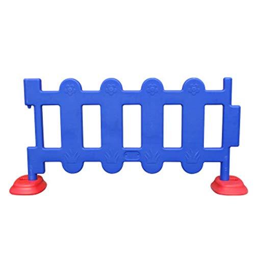 AISHANG Kinderspielzaun Sicherheitszaun Kleinkind Bar Zaun Spielzeug Abnehmbare Anti-Isolation Barrier Activity Panel-Bett,Blue,small -