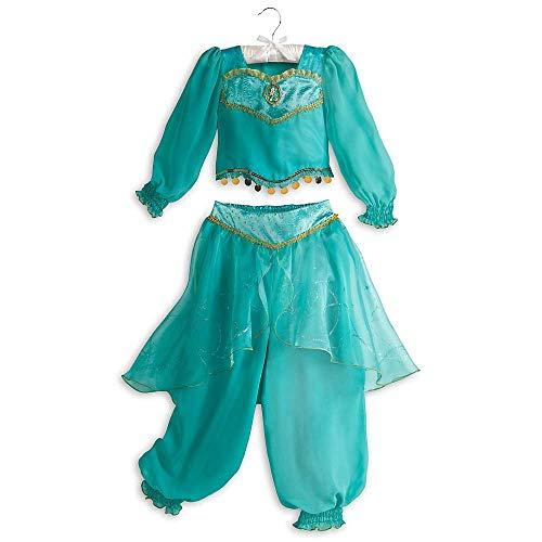 Disney Store Jasmin Aladdin Halloween-Kostüm -  grün -  M 7/8 US Medium