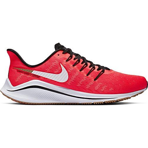 Nike Herren Air Zoom Vomero 14 Laufschuhe Rot (Red Orbit/White/Black/Parachute Beige 620) 47.5 EU