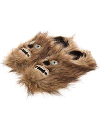 f339e2e4406 Pantoufles Mules Chewbacca Adulte Scuff Fluffy de Star Wars  UK 10 11