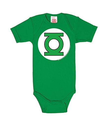 Logoshirt Body para bebé Linterna Verde - Logotipo - DC Comics - Gree