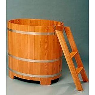 Arend Tauchkübel Lärche natur inkl. Einstiegsleiter ca.350 L
