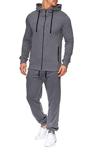 TAZZIO Herren Sportanzug Jogginganzug Trainingsanzug Sporthose&Hoodie 17203