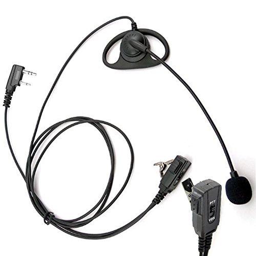 arama-a109k01-profi-d-form-funkgerte-headset-ohrhrer-mit-boom-mikrofonvox-und-ptt-fr-2-pin-kenwood-h
