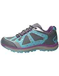 Mountain Warehouse Zapatos impermeables para correr en pista Lakeview para mujer
