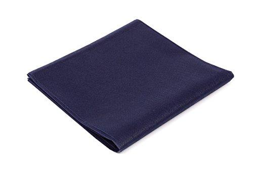 Tovaglia coprimacchia in tnt misura 100x100 per ristoranti, alberghi, bar e pub, pezzi 100 a confezione, colore blu notte