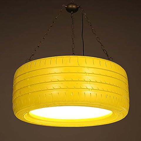 Moderna lampada pendente Colore seppia lampadario di