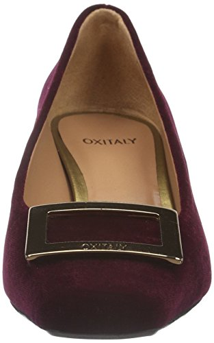 Oxitaly Damen Adele 211 Pumps Rot (bordo)
