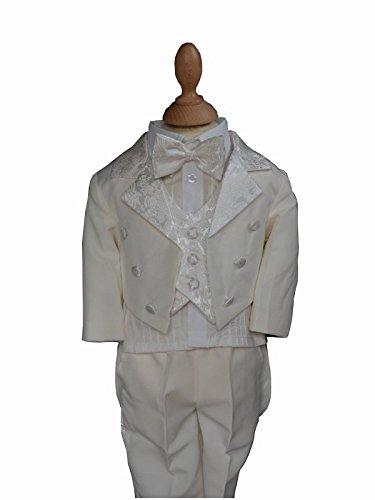 Frankreich Jungen Kostüm Für - Kostüm Frack Baby bis 6Jahre weiß oder elfenbeinfarben-Produkt Gespeichert und verschickt Schnell seit Frankreich Gr. 62, Ivoire - Ecru