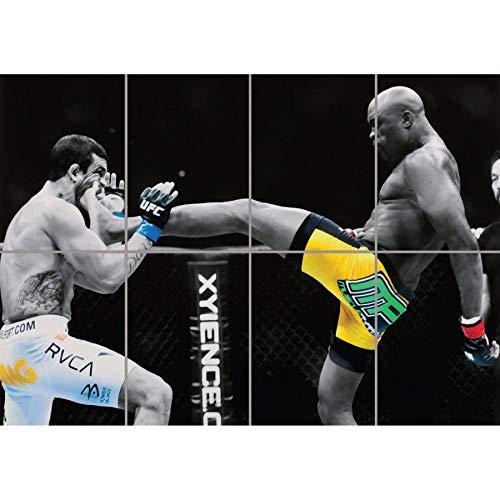 ANDERSON SILVA UFC KICK GIANT WALL ART PRINT PICTURE POSTER PLAKAT DRUCK G1219 -