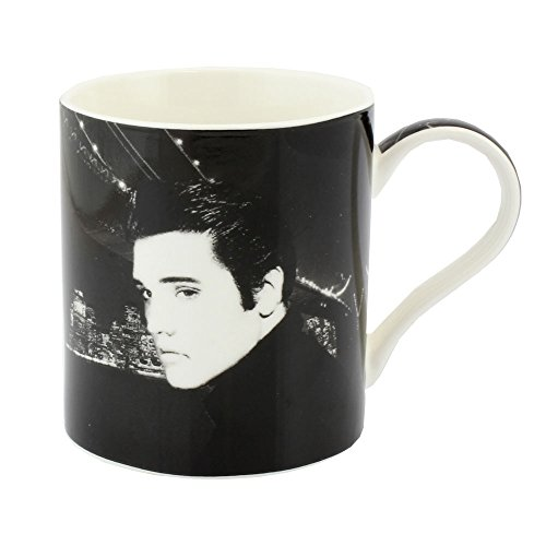 Leonardo Collection Elvis Mug en porcelaine fine, Noir