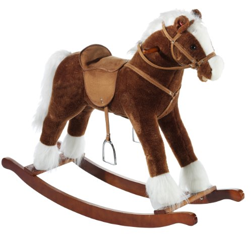 Heunec Classic 727571 Rocking Horse with Sound Effects Large