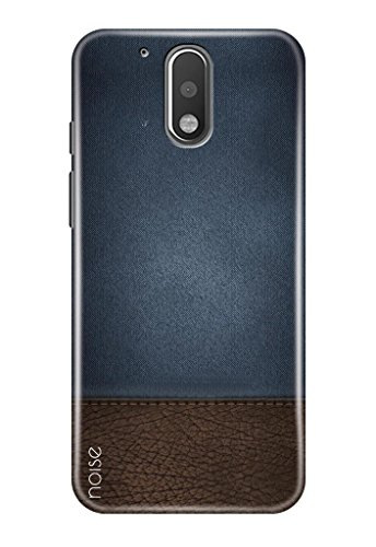 Noise Back Cover Case for Moto G4 Plus (Gen 4) / 4th Generation (Looks like denim)