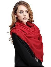 UUstar® 100% Pure Woll Wool Kammgarn Damen Winter Schal Stola Scarf Shawl Stole