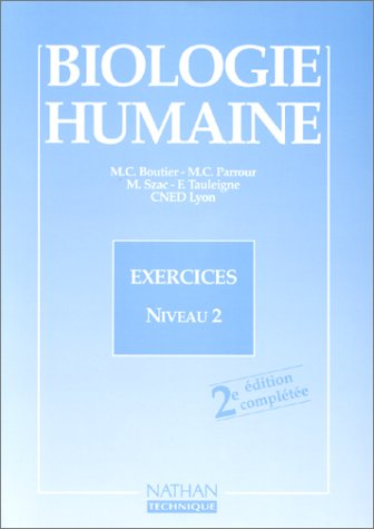 Biologie humaine : exercices niveau 2