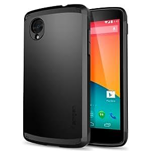 Spigen Slim Armor Cover Case for Nexus 5 - Smooth Black