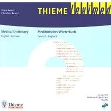 Medizinisches Wörterbuch. English - German. Deutsch - Englisch. CD-ROM für Windows 95/98/NT 4.0 und MacOS.