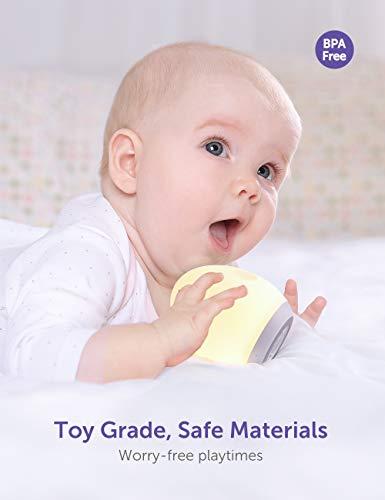 Baby Einschlafhilfen, Nachtlicht Kind Wiederaufladbare Nachttischlampe USB Silikon Pinguin,Touch Control - Wiederaufladbare, WarmLicht, VAVA, USB, Touch, Timer, Silikon, RGBFarbwechsel, Pinguin, Nachttischlampe, nachtlicht kinder, Nachtlicht, Modi, mit, Kind, einschlafhilfen, dimmbar, Control, Baby