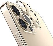 واقي عدسات كاميرا XINKOE لجهاز Apple iPhone 12 Pro Max، [2 في 1] حلقة حماية لعدسة الكاميرا + غشاء واقي من الزج