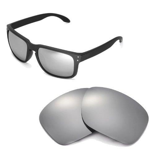 Walleva Ersatzgläser für Oakley Holbrook - Mehrfache Optionen (Titan)