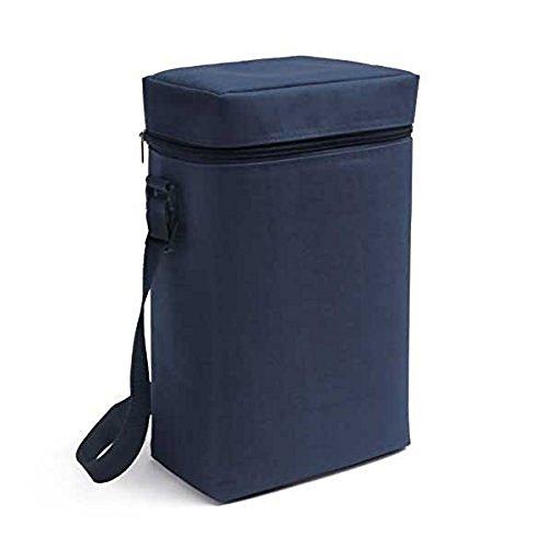 Vertrieb durch presents & more Kühltasche - Blau - 2 x 1,5 L Flaschen