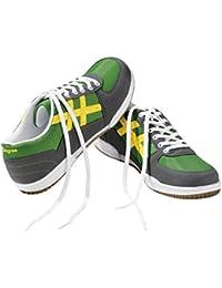 Herren Sneaker, Sportschuhe laufschuhe Grün/Grau Gröse: 45 Aus pflegeleichtem und strapazierfähigem Obermaterial