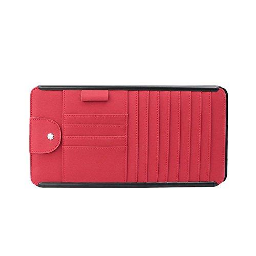 Handys Visitenkarten Fernbedienungen Aus Leder Rot Medifier
