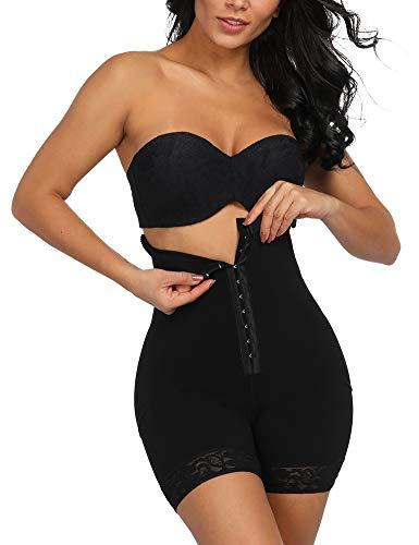 FeelinGirl Damen Shapewear Bauch Weg Figurformender Miederhosen Taillenformer Miederpants Miederslip Body Shaper