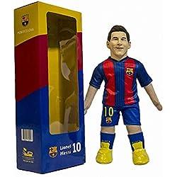 TOODLES DOLLS Figura Muñeco Oficial Réplica del FC Barcelona Jugador Leo Messi Nº 10 del Barça 45 Cm