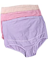 3pcs Femmes Culottes de Grossesse Réglable Caleçons Maternité Sous-vêtements Support Briefs Enceintes