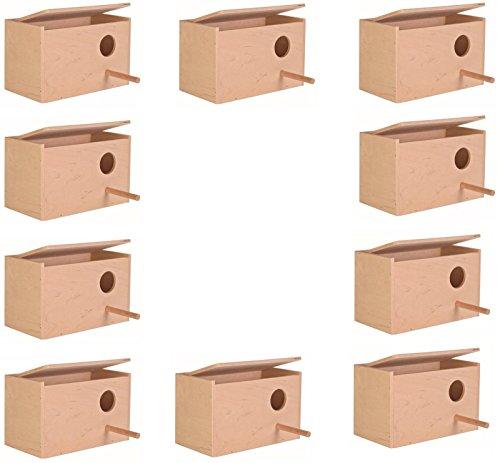 TRIXIE SMALL BUDGIE BIRD CAGE AVIARY NEST NESTING BREEDING BOX BULK x 10 (5630) 1