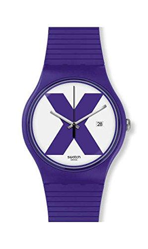 Swatch Montre Mixte SUOV401