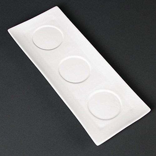 Lumina Fine China DP974-Platte, weiß (6Stück) (China-platte)