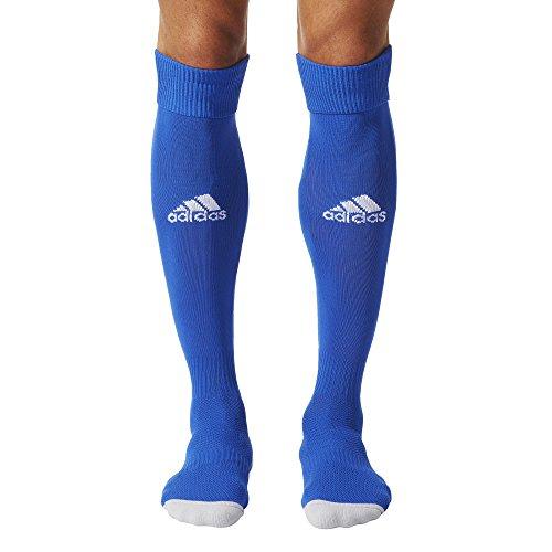 Adidas Milano Calzettoni da Uomo, Blu/Bianco (Dark Blue/White (AC5262)), taglia 43-45