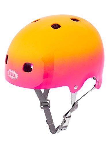 Bell Kinder Fahrradhelm Segment JR, Pink/Yellow Comet, 48-53 cm, 210093013 (Sports Fahrradhelm Bell Kinder)