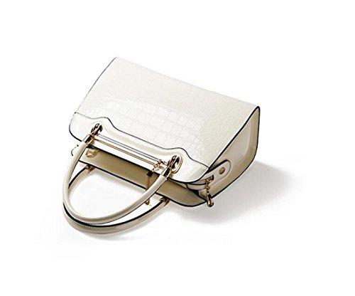 Borse Di Marca Del Sacchetto Di Spalla In Rilievo Signore Borsa Diagonale Borsa Frizione Pacchetto Di Carta Telefono Pacchetto Bag White