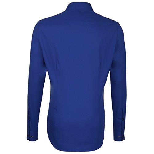 Seidensticker - Camicia classiche - Basic - Classico - Maniche lunghe - Uomo blau (0018) .