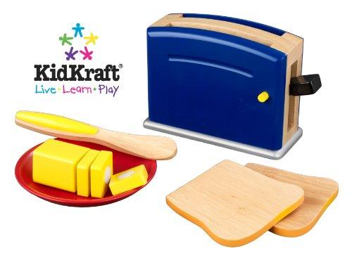 Preisvergleich Produktbild KidKraft 63167 - Toaster-Spielset in Primarfärben