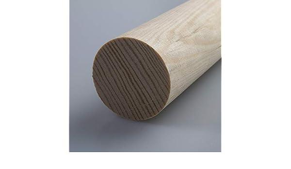 Rechteckleiste Bastelleiste Abschlussleiste aus unbehandeltem Kiefer-Massivholz 2100 x 5,3 x 28 mm