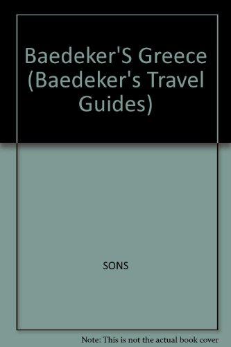 Baedeker'S Greece (Baedeker's Travel Guides)