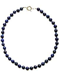Lys de Mejac – Collier entièrement noué et composé de Lapis Lazuli