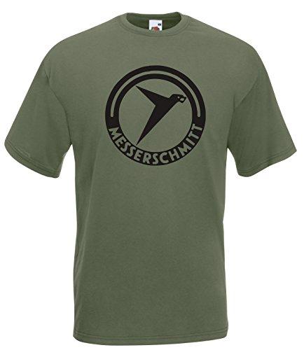 Settantallora Herren T-Shirt grün grün Grün