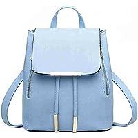 Bizanne Fashion Girl's Canvas Attractive College Bag (Blue)