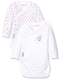 Absorba Baby Body Cache-Coeur Bodysuit pack of 2